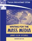 Writing for the Mass Media 7th Edition By James G. Stovall (2008)