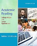 Academic Reading: College Major and Career Applications (7th Edition)