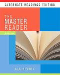 Master Reader, The, Alternate Reading Edition (with MyReadingLab Student Access Code Card)