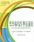 Resources for Writers with Readings (with MyWritingLab with Pearson eText Student Access Cod...