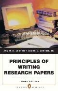 Principles of Writing Research Papers (3rd Edition) (Penguin Academics)