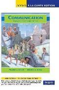 Communication: Making Connections, Books a la Carte Plus MyCommunicationLab (8th Edition)