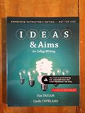 IDEAS & Aims for College Writing (Annotated Instructor's Edition)