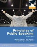 Principles of Public Speaking PIE NO US SALE