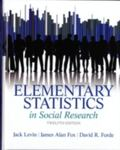Elementary Statistics in Social Research (12th Edition)