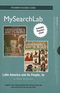 Mysearchlab with Pearson Etext - Standalone Access Card - For Latin America and Its People