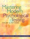 Mastering Modern Psychological Testing: Theory & Methods Plus MySearchLab with eText -- Acce...