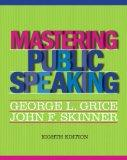 Mastering Public Speaking Plus NEW MyCommunicationLab -- Access Card Package (8th Edition)