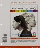 Abnormal Psychology, Books A La Carte Edition (16th Edition)