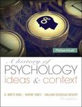 History of Psychology : Ideas and Context Plus NEW MySearchLab with EText -- Access Card Pac...