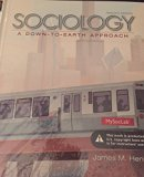 Sociology a Down to Earth Approach
