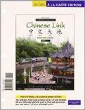 Chinese Link: Beginning Chinese, Simplified Character Version, Level 1/Part 1, Books a la Ca...