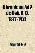 Chronicon Ad De Usk, A