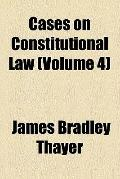 Cases on constitutional law (1895)