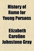 History of Rome for Young Persons