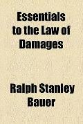 Essentials of the Law of Damages (1919)