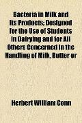 Bacteria in milk and its products