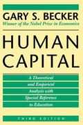 Human Capital A Theoretical and Empirical Analysis, With Special Reference to Education