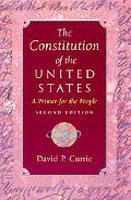 Constitution of the United States A Primer for the People