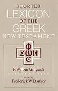 Shorter Lexicon of the Greek New Testament