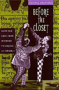 Before the Closet Same-Sex Love from Beowulf to Angels in America