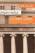 Cultural Capital The Problem of Literary Canon Formation