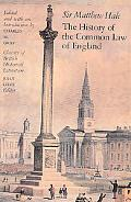 History of the Common Law in England
