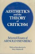 Aesthetics and the Theory of Criticism Selected Essays