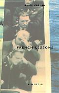French Lessons A Memoir
