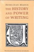 History and Power of Writing