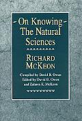 On Knowing - The Natural Sciences