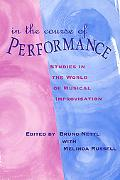 In the Course of Performance Studies in the World of Musical Improvisation
