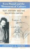 Ezra Pound and the Monument of Culture Text, History, and the Malatesta Cantos