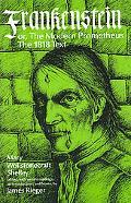 Frankenstein Or the Modern Prometheus  1818 Text