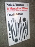 A manual for writers of term papers, theses, and dissertations (Manual for Writers of Term P...