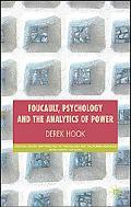 Foucauldian Analytics and Psychology