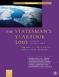 The Statesman's Yearbook 2010: The Politics, Cultures and Economies of the World (Statesman'...