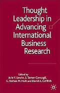 Thought Leadership in Advancing International Business Research