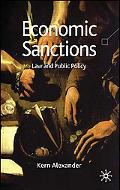 Economic Sanctions; Reassuring Public Policy Law, Regulation and Policy