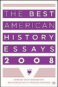 Best American History Essays 2008