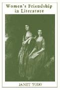 Women's Friendship in Literature The Eighteenth-Century Novel in England and France