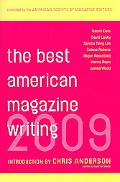 Best American Magazine Writing 2009