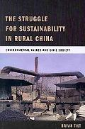 Struggling for Sustainability in Rural China: Environmental Values and Civil Society