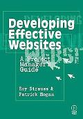 Developing Effective Websites A Project Manager's Guide