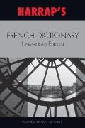 Harrap's French Dictionary Unabridged Edition Vol 2 (French-English)