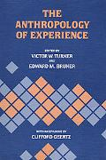 Anthropology of Experience