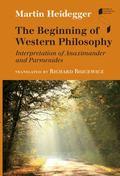 Beginning of Western Philosophy : Interpretation of Anaximander and Parmenides