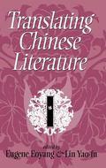 Translating Chinese Literature