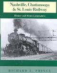 Nashville, Chattanooga and St. Louis Railway History and Steam Locomotives  Lookout Mountain...
