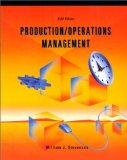 Production/Operations Management (Irwin Series in Marketing)